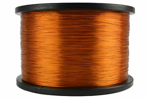 Temco Magnet Wire 26 Awg Gauge Enameled Copper 200c 5lb 6290ft Coil Winding