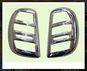 Chrome Tail Light Lamp Back Cover Trim For Nissan March Hatchback