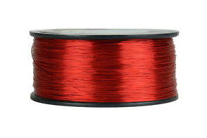 Temco Magnet Wire 27 Awg Gauge Enameled Copper 1 5lb 155c 2355ft Coil Winding