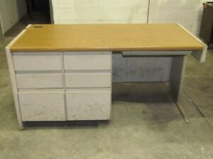Office home Reception Computer Desk table 30x60x30 7 Drawers Heavy Duty Table