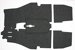 Porsche 356 T6 356c Coupe Cab Supplemental Carpet Kit German Square Weave