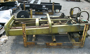 Cl 240z786 Forklift Mast Upright Lift Used With Carriage