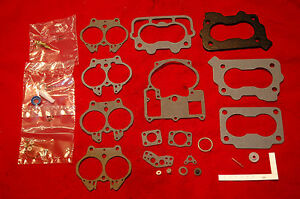 1969 70 Carb Kit Chevrolet 2 Barrel Rochester 327 350 Engines New