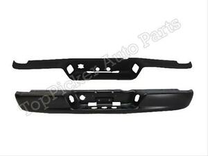 Ch1102352 Ch1191110 Rear Bumper Black Top Pad For 02 08 Dodge Ram Pickup
