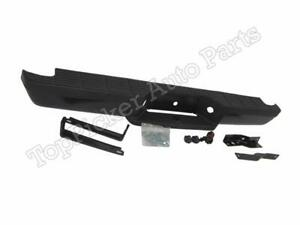 Rear Step Bumper Coated Black Assy For 1993 2011 Ford Ranger Styleside Body Pad