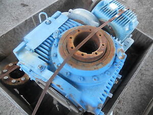 Large Cone Gear Reducer V50 800 Surplus Vertical Mt X 5 15 16 Approx