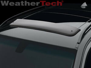 Weathertech No Drill Sunroof Wind Deflectors For Bmw X3 2004 2010