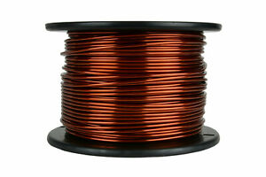 Temco Magnet Wire 10 Awg Gauge Enameled Copper 7 5lb 236ft 200c Coil Winding