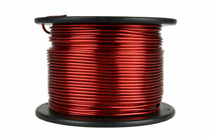 Temco Magnet Wire 10 Awg Gauge Enameled Copper 7 5lb 155c 236ft Coil Winding
