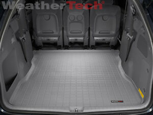 Weathertech Cargo Liner Trunk Mat For Toyota Sienna Large 2004 2010 Grey
