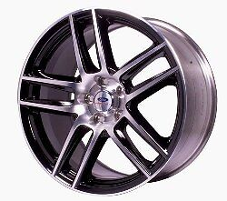 2005 2013 Mustang Boss 302s Rear Wheel Black With Machined Face