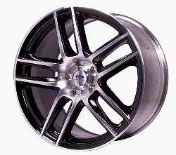 2005 2013 Mustang Boss 302s Front Wheel Black With Machined Face