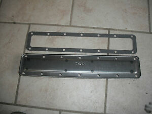 New Ihc Farmall Water Jacket Plate H Super H W4 300 350 And Gasket N