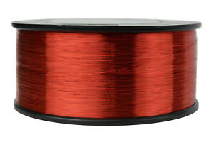 Temco Magnet Wire 34 Awg Gauge Enameled Copper 1 5lb 155c 11760ft Coil Windin