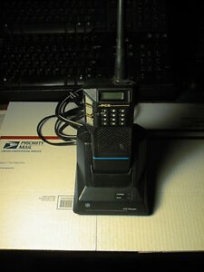 General Electric Pcs Vhf Comb Pc2h3a08 Portable Dtmf Keypad Ant Batt