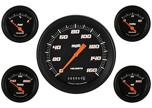 Classic Instruments 59 60 Impala El Camino Chevy Car Gauge Package Speedo Vs