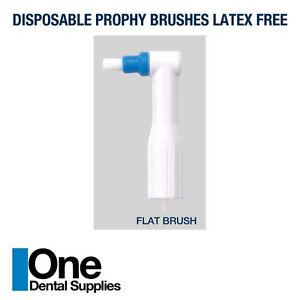 Dental Disposable Prophy Angles flat Brushes 500 Pcs