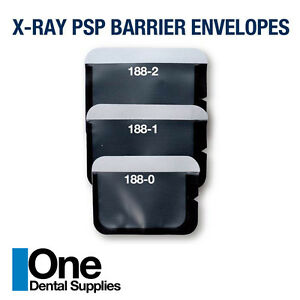 Dental X ray Psp Barrier Envelopes 1000 Pcs Size 0 1 Or 2