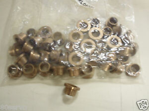 Bronze Bushing Flanged Mxl06221 0 500 Id 0 625 Od Lot Of 41 Bushings