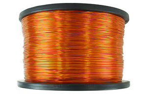 Temco Magnet Wire 22 Awg Gauge Enameled Copper 3 5lb 1750ft 200c Coil Winding