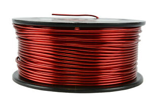 Temco Magnet Wire 14 Awg Gauge Enameled Copper 1 5lb 155c 118ft Coil Winding