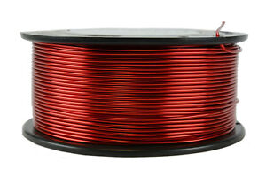 Temco Magnet Wire 16 Awg Gauge Enameled Copper 1 5lb 155c 188ft Coil Winding