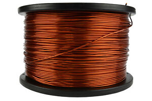Temco Magnet Wire 16 Awg Gauge Enameled Copper 5lb 625ft 200c Coil Winding