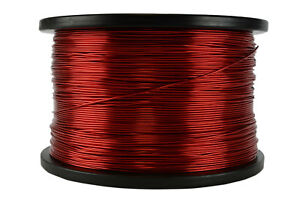 Temco Magnet Wire 18 Awg Gauge Enameled Copper 5lb 155c 995ft Coil Winding