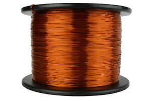 Temco Magnet Wire 21 Awg Gauge Enameled Copper 200c 7 5lb 2962ft Coil Winding