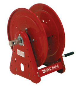 Reelcraft Ca38106 m 1 2 X 100ft 5000 Psi Pressure Wash Reel No Hose