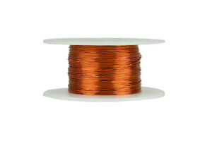 Temco Magnet Wire 27 Awg Gauge Enameled Copper 200c 4oz 392ft Coil Winding