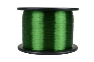 Temco Magnet Wire 30 Awg Gauge Enameled Copper 155c 7 5lb 23490ft Coil Green