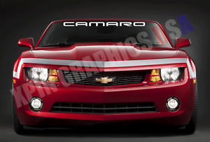 Camaro Windshield Banner Decal Vinyl Sticker Chevy Chevrolet Ss Z28 Sport