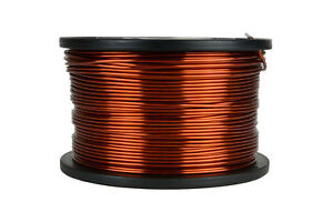 Temco Magnet Wire 13 Awg Gauge Enameled Copper 5lb 315ft 200c Coil Winding