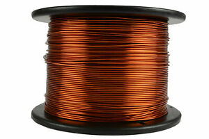 Temco Magnet Wire 15 Awg Gauge Enameled Copper 7 5lb 750ft 200c Coil Winding