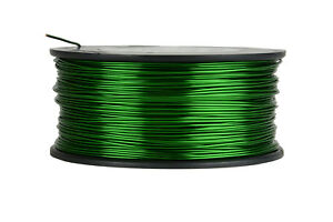 Temco Magnet Wire 18 Awg Gauge Enameled Copper 155c 1 5lb 298ft Coil Green