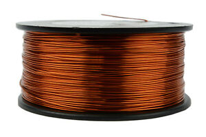 Temco Magnet Wire 20 Awg Gauge Enameled Copper 200c 1 5lb 471ft Coil Winding