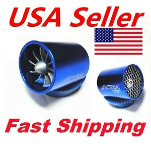 Car Intake Fuel Gas Saver Hybrid Supercharger Turbo Cold Air Intake Fan