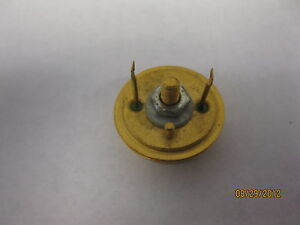 Vintage H 2n2338 Power Transistor Old Gold