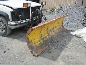 Diamond 8 Hydraulic Snow Plow Blade And A Frame Only