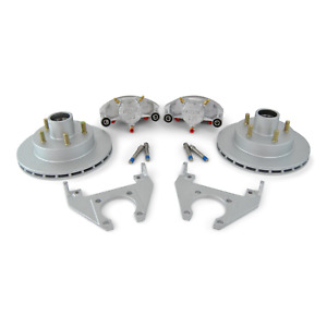 Kodiak Boat Trailer Integral Hydraulic Disc Brake Set All Dac 5 Bolt 3500 Axle
