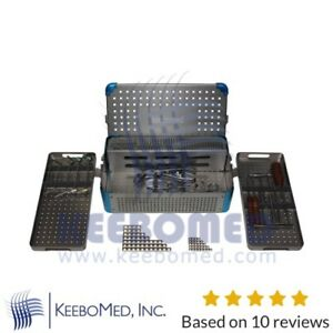 Veterinary Orthopedic Starter Plating System Set 2 0 2 7 3 5mm Quality Kit Deal