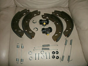 Mgb Convertable Wheel Cylinders Brake Shoes all Springs Hold Downs 62 80