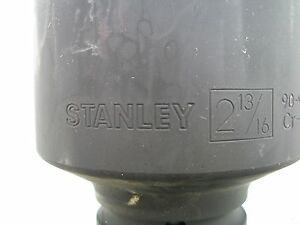 New Stanley 1 In Drive 2 13 16 Inch Impact Socket 6 Point