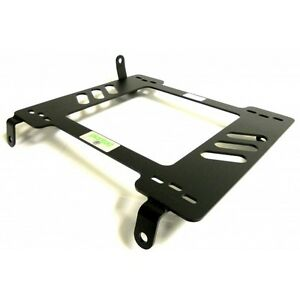 Planted Seat Bracket Driver left Side For Acura Rsx 02 06 Steel Black