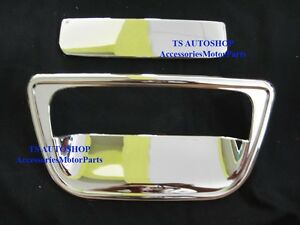 Chrome Tailgate Inserts Cover Trim For Nissan March Hatchback V 3