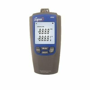 Supco Em10 Temperature Humidity Meter