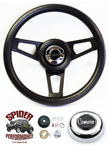 1969 1994 Camaro Steering Wheel 13 3 4 Black Spoke