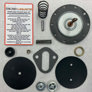 1958 65 4445 4656 4657 Ac Fuel Pump Rebuild Kit Corvette Chevy For Todays Fuels