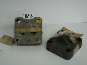 Manually Adjustable Hydraulic Flow Valve 5 Square 1 1 2 Base Thickness